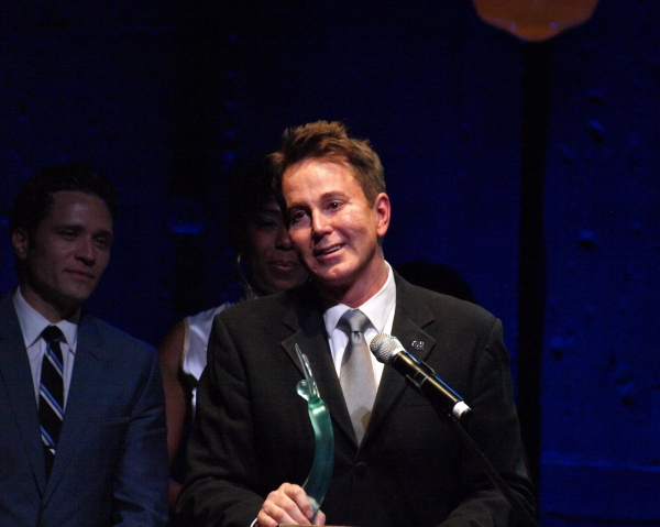 Davis Gaines at Inside the 2012 OVATION AWARDS!
