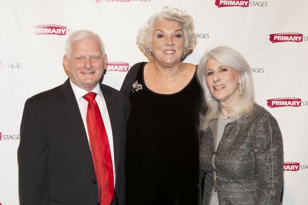 Ted Snowdon, Tyne Daly and Jamie deRoy at Tyne Daly, Julie Halston, and More at Primary Stages' Annual Gala