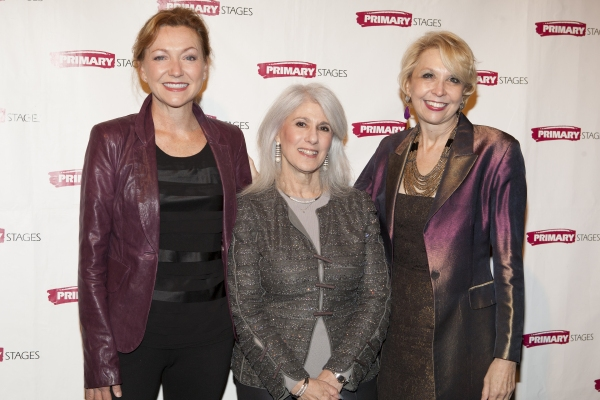 Julie White, Jamie deRoy and Julie Halston at Tyne Daly, Julie Halston, and More at Primary Stages' Annual Gala