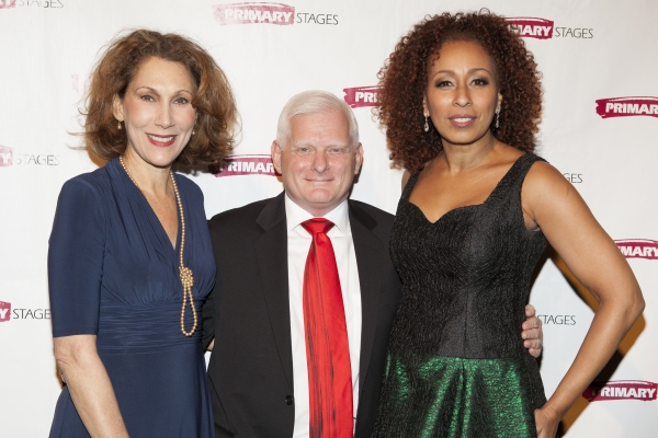 Randy Graff, Ted Snowdon and Tamara Tunie at Tyne Daly, Julie Halston, and More at Primary Stages' Annual Gala