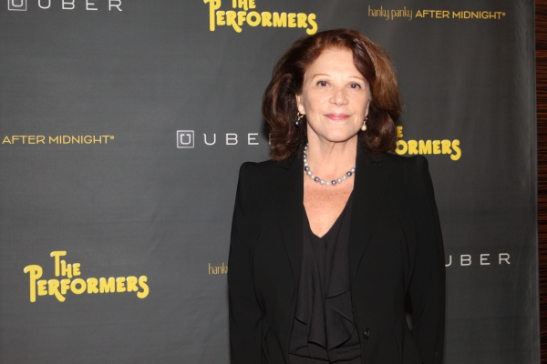 Linda Lavin at THE PERFORMERS on Broadway - Opening Night Party!