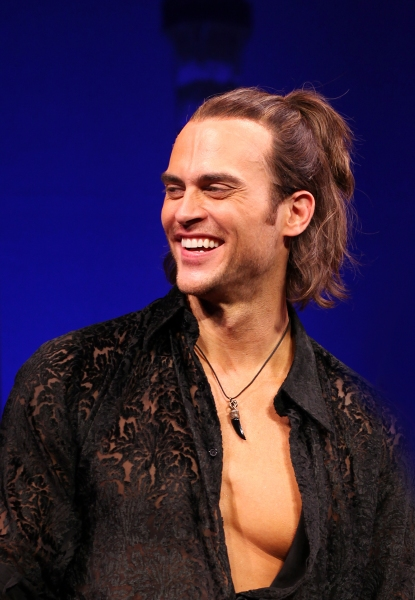 Cheyenne Jackson at THE PERFORMERS Broadway Opening Night - Curtain Call!