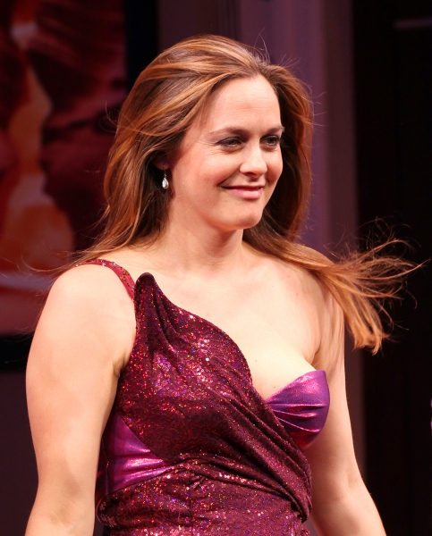 Alicia Silverstone at THE PERFORMERS Broadway Opening Night - Curtain Call!