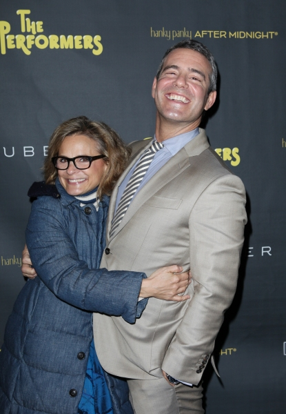 Amy Sedaris & Andy Cohen