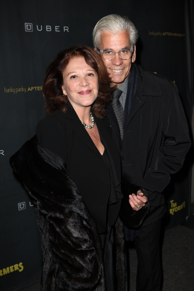 Linda Lavin & Steve Bakunas at THE PERFORMERS Opening Night Red Carpet Arrivals!