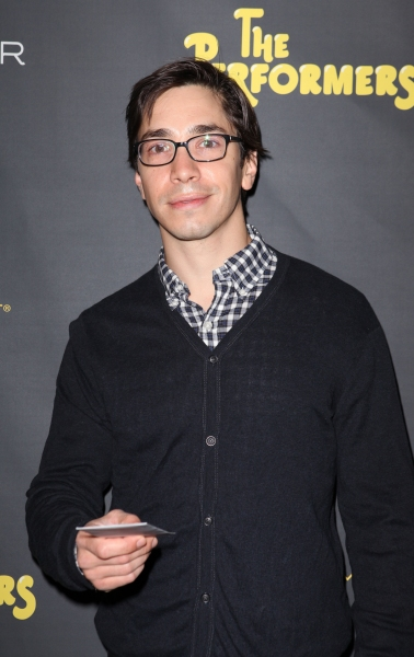Justin Long at THE PERFORMERS Opening Night Red Carpet Arrivals!