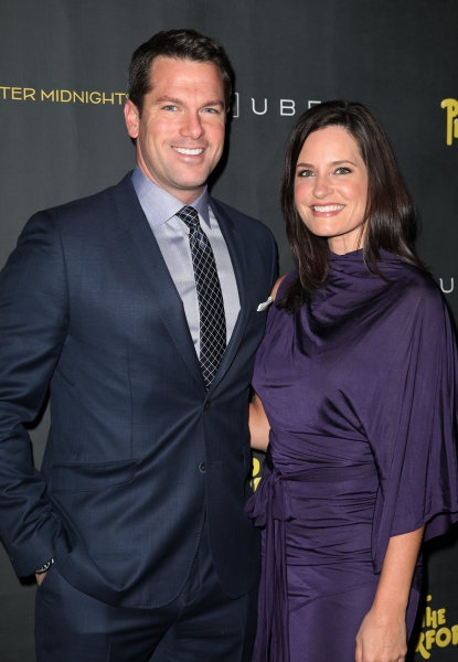 Contessa Brewer and Thomas Roberts