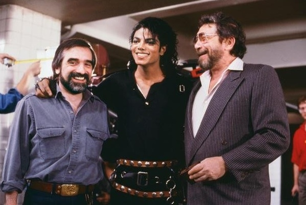 Martin Scorsese, Michael Jackson, Walter Yetnikoff at First Look - Michael Jackson Documentary BAD 25, Airing on ABC
