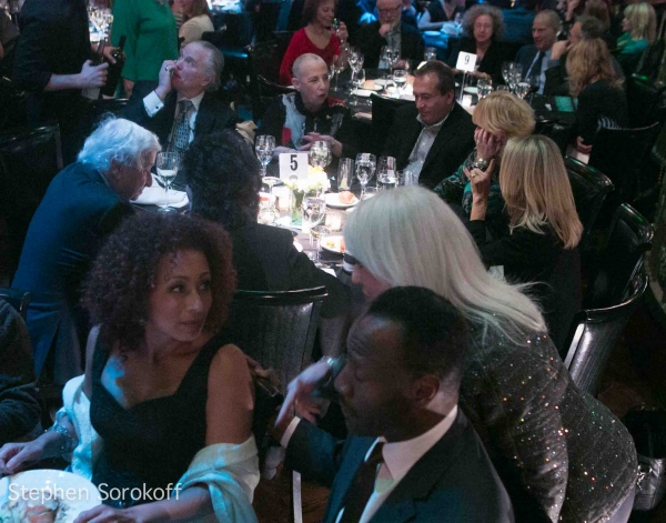 Tamara Tunie, Jamie deRoy, Gregory Generet at Inside the 2012 Primary Stages Gala