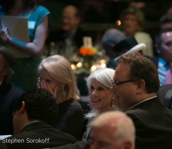 Daryl Roth, Jamie deRoy Troy Heiden at Inside the 2012 Primary Stages Gala