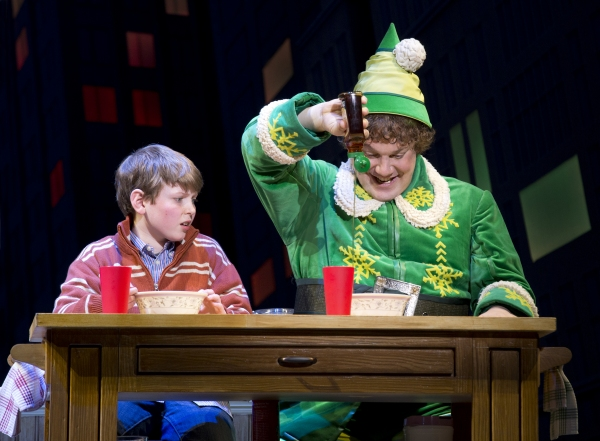 Photo Flash: First Look at Beth Leavel, Leslie Kritzer & More in ELF!
