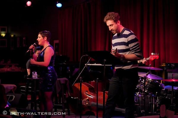 Daisy Eagan and Danny Goldstein