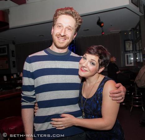 Daisy Eagan and Danny Goldstein Photo