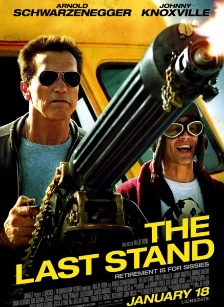 Photo Flash: Poster for Schwarzenegger's THE LAST STAND