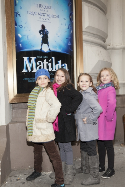 Photo Coverage: Meet MATILDA's Four Leading Ladies!