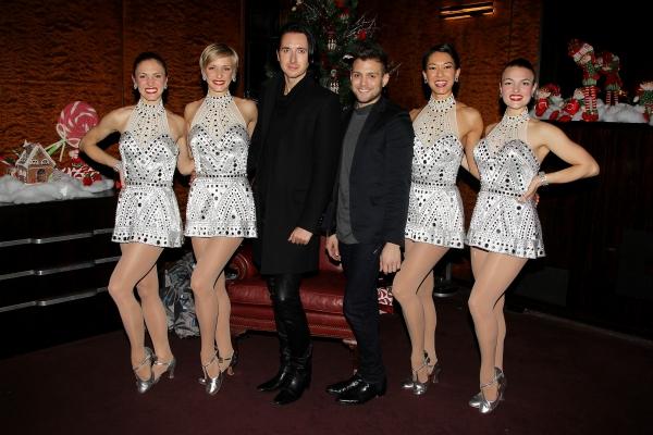 Christopher Palu, Dmitry Sholokov, and The Rockettes Photo