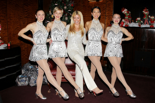 Jill Martin and The Rockettes