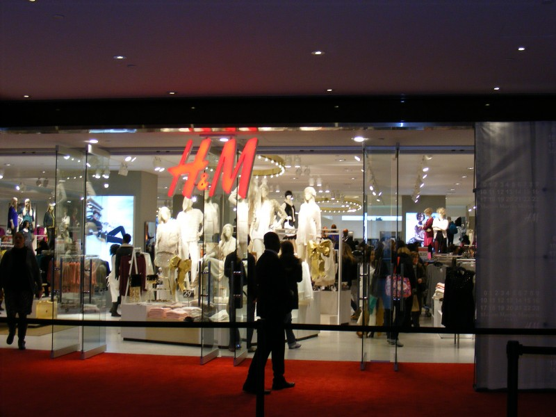New Columbus Circle H&M Opens with Margiela Launch