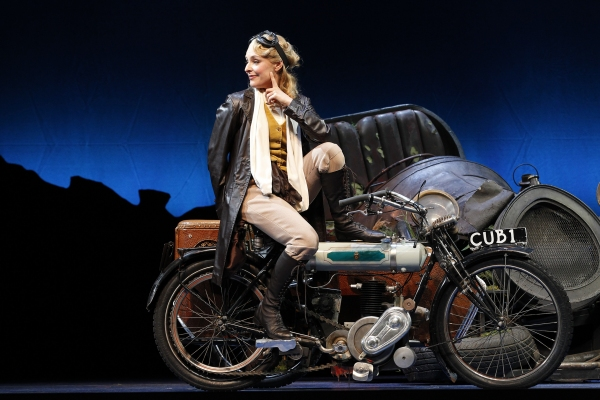 Photo Flash: First Look at David Hobson, Rachael Beck and More in CHITTY CHITTY BANG BANG