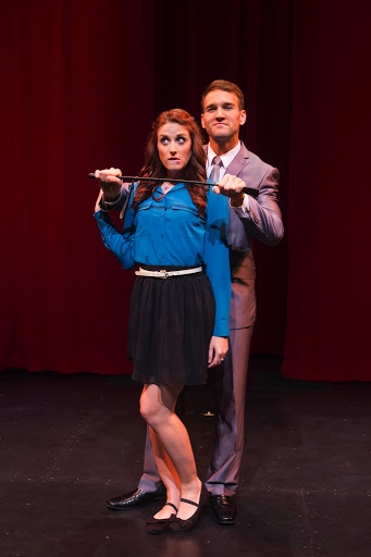 Michelle Vezilj as Tasha Woode and Drew Moerlein as Hugh Hanson