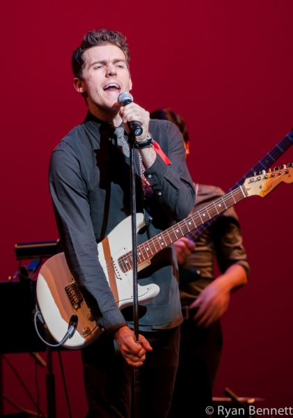 Photo Flash: JERSEY BOYS Tour Holds 'Rock Like a Man' Concert to Benefit BCEFA