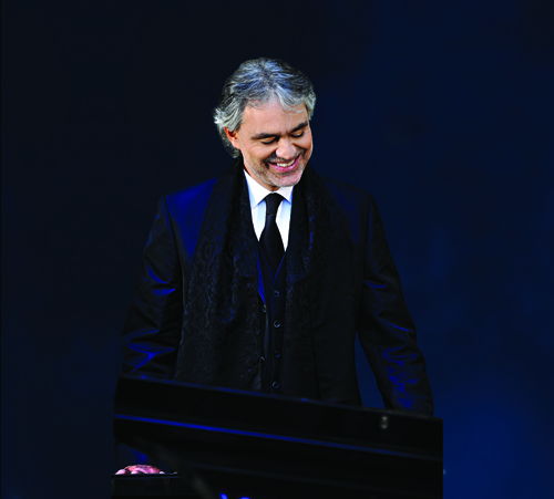Andrea Bocelli to Perform with Houston Symphony, 11/28