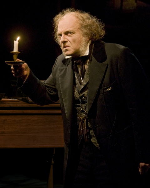Jeffrey Bean as Ebenezer Scrooge