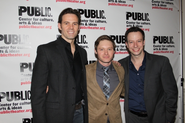 Michael Halling, Bobby Steggert and Tally Sessions