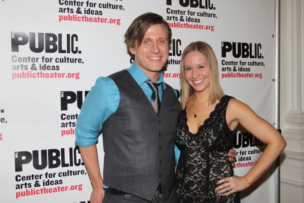 P.J. Griffith and Kelly Karbacz  Photo