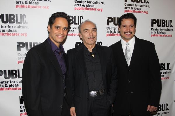 Martin Sola, Raul Aranas and Enrique Acevedo