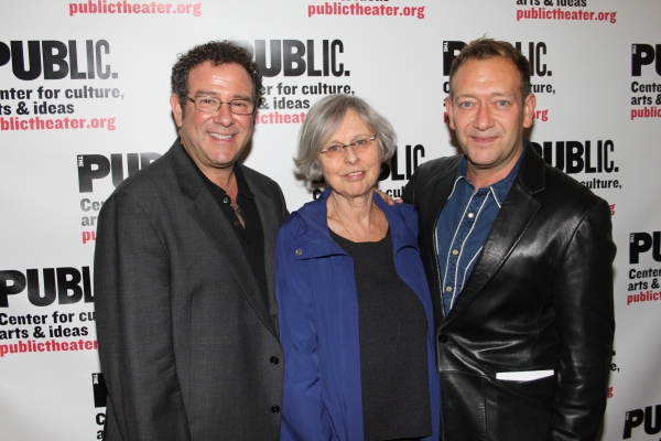 3 at Opening Night Party for GIANT at the Public Theater!