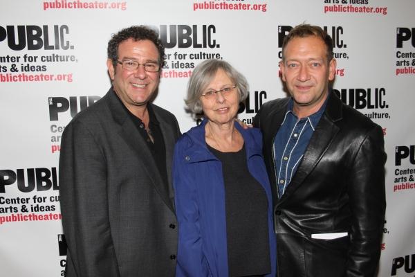 Michael Greif, Sybille Pearson and Michael John LaChiusa  Photo