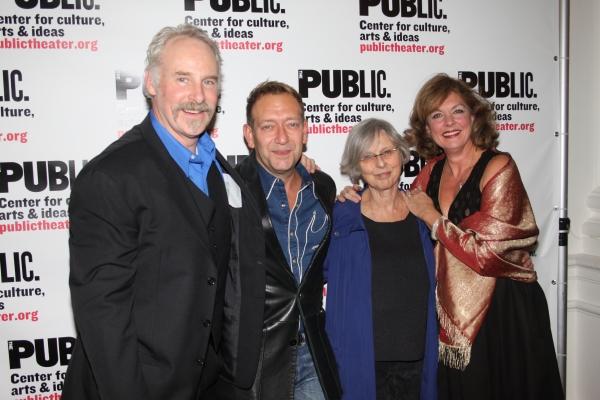 John Dossett, Michael John LaChiusa, Sybille Pearson and Michele Pawk  Photo