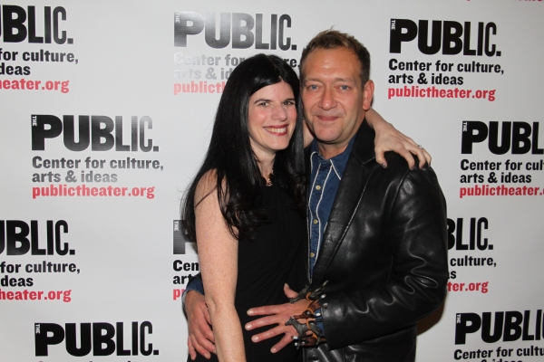 Mandy Hackett and Michael John LaChiusa