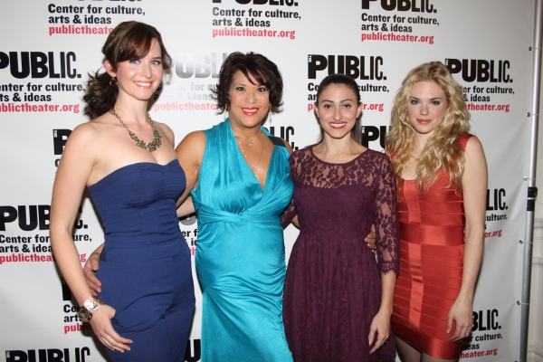 Allison Rogers, Doreen Montalvo, Natalie Cortez and Mackenzie Mauzy  Photo