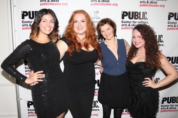 Isabel Santiago, Katie Thompson, Mary Bacon and Rocio Del Mar Valles