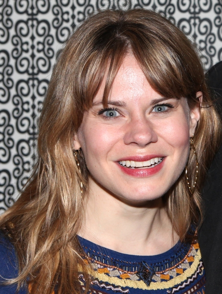 Celia Keenan-Bolger at MURDER BALLAD's Opening Night Party!