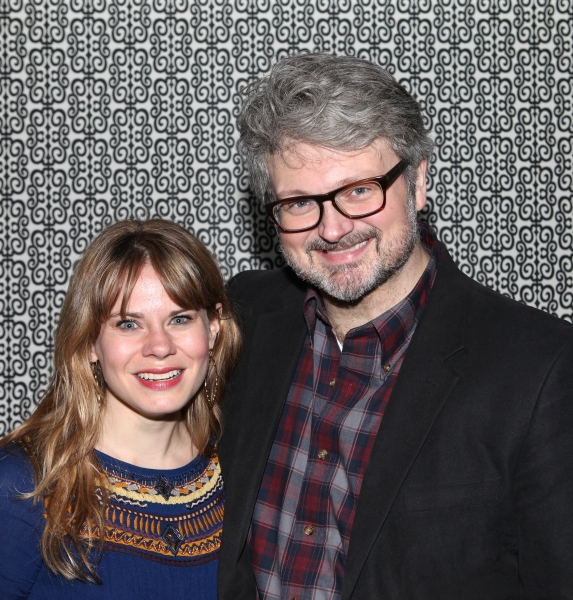Celia Keenan-Bolger & John Ellison at MURDER BALLAD's Opening Night Party!