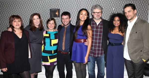 Photo Coverage: MURDER BALLAD's Opening Night Party!