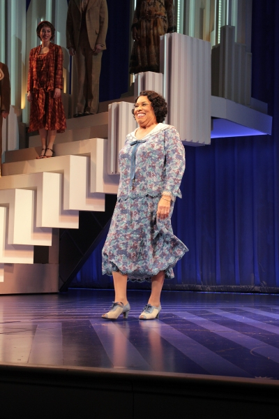 Roz Ryan at SCANDALOUS Opening Night on Broadway - Curtain Call!