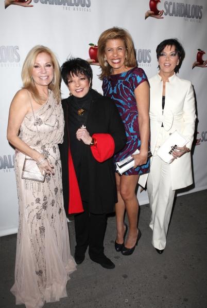 Kathie Lee Gifford, Liza Minnelli, Hoda Kotb, Kris Jenner