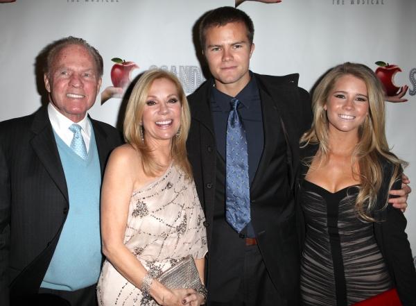 Frank Gifford, Kathie Lee Gifford, Cody Gifford and Cassidy Erin Gifford