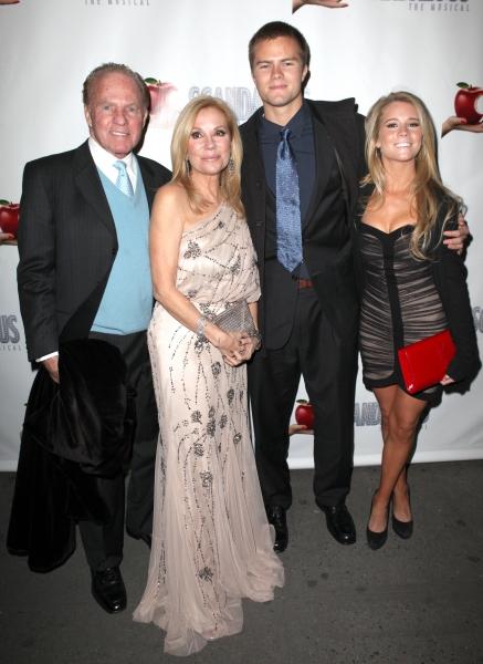 Frank Gifford, Kathie Lee Gifford, Cassidy Gifford and Cody Gifford