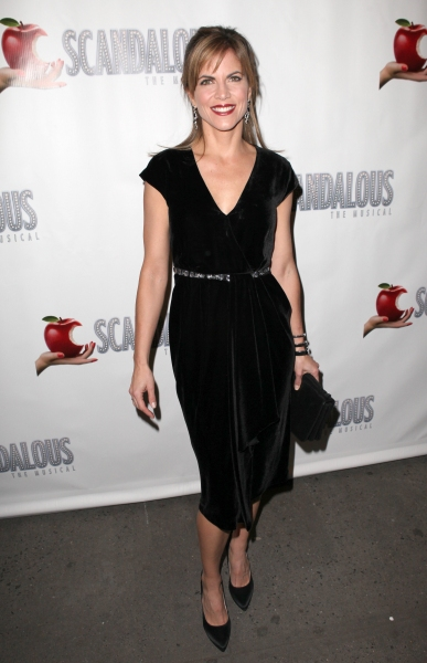 Natalie Morales at SCANDALOUS' Opening Night Arrivals!