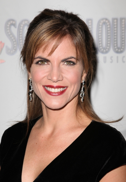 Natalie Morales  at SCANDALOUS' Opening Night Arrivals!