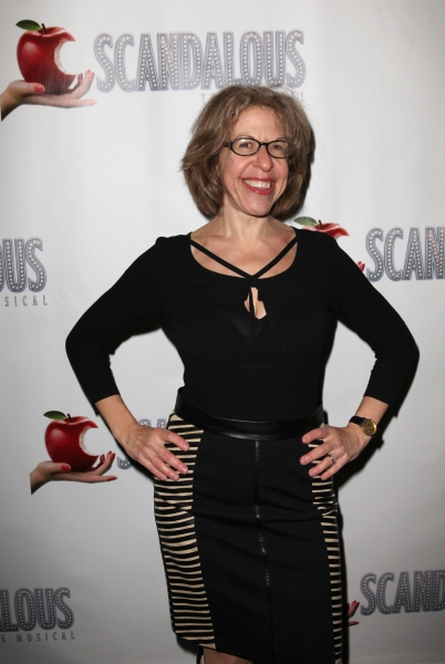 Jackie Hoffman at SCANDALOUS' Opening Night Arrivals!