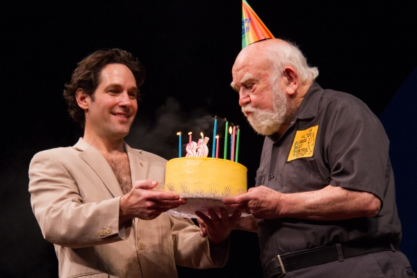 Paul Rudd, Ed Asner
