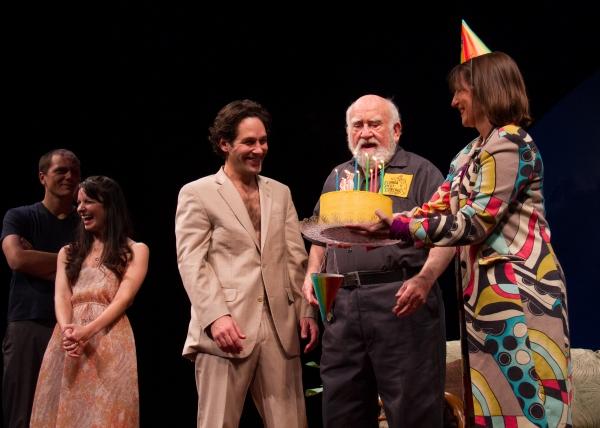 Kate Arrington, Paul Rudd, Ed Asner Photo