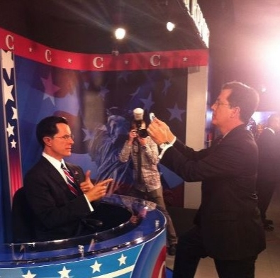 Stephen Colbert at First Look - Stephen Colbert Gets Immortalized in Wax!