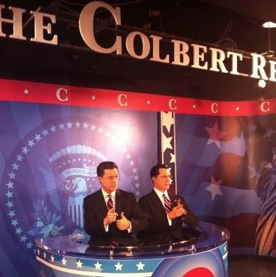 Photo Flash: First Look - Stephen Colbert Gets Immortalized in Wax!